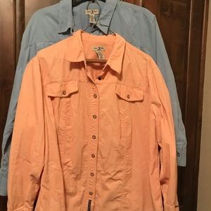 🌟3 for $20🌟2-Corduroy L/S Button Down Tops